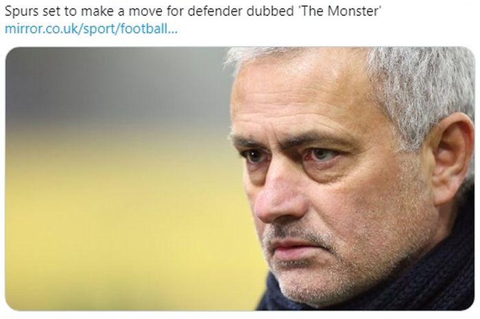 Pelatih Tottenham Hotspur, Jose Mourinho