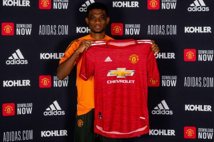Amad Diallo sudah sesumbar ingin meraih juara Liga Inggris dan Liga Champions, meski baru bergabung dengan Manchester United.