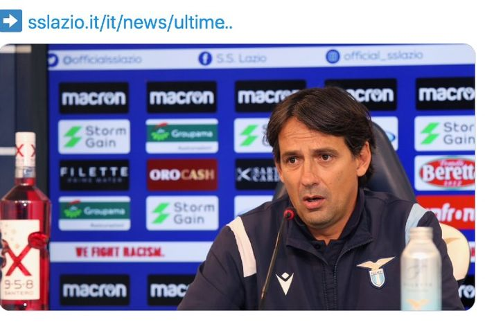 Pelatih Lazio, Simone Inzaghi, tidak terkejut dengan kemenangan telak 3-0 timnya atas AS Roma pada pertandingan derbi Roma
