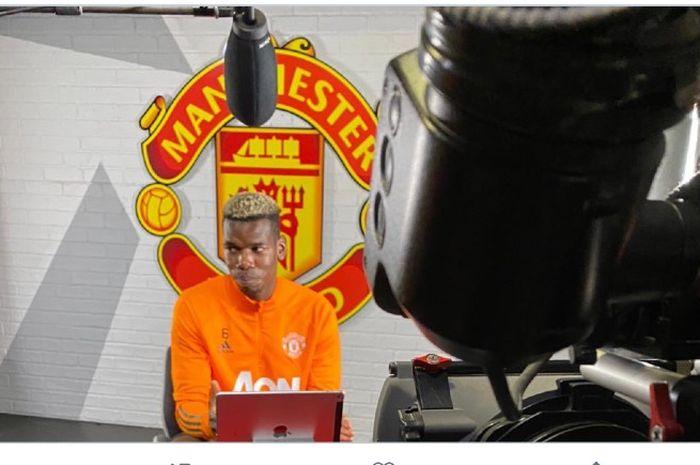 Bintang Manchester United, Paul Pogba, menilai timnya belum berada pada level setara dengan Liverpool pada Liga Inggris musim 2020/2021.