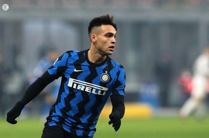 Kompatriot Lionel Messi di timnas Argentina, Lautaro Martinez, tampil sejago musim lalu usai berhasil membawa Inter Milan menggebuk Torino.