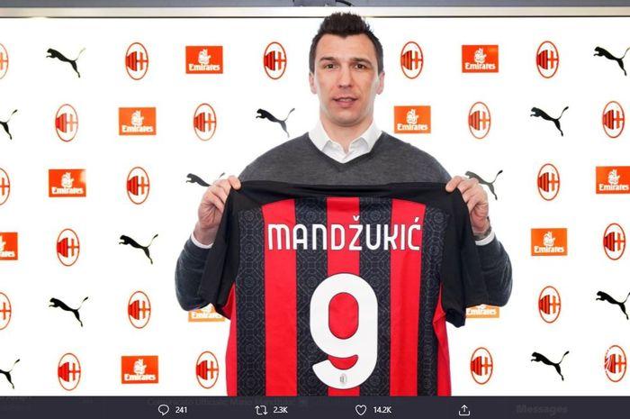Penyerang anyar AC Milan, Mario Mandzukic, sudah siap menghadapi tantangan di klub barunya tersebut.