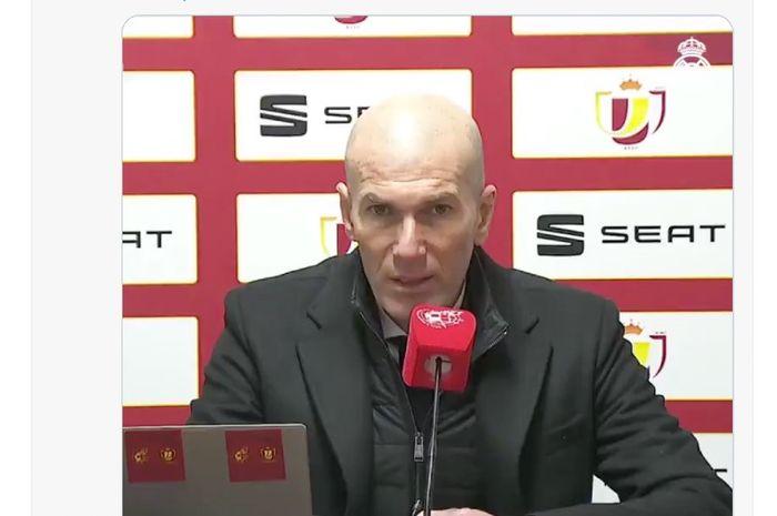 Pelatih Real Madrid Zidane