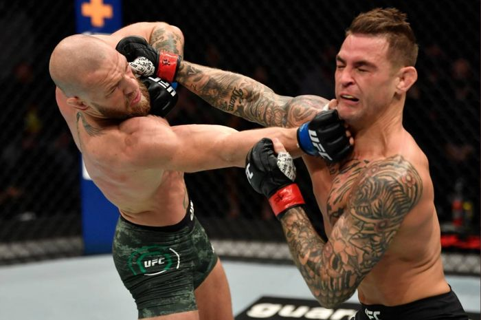 Duel Conor McGregor vs Dustin Poirier di UFC 257, Minggu (24/1/2021) WIB di Abu Dhabi.