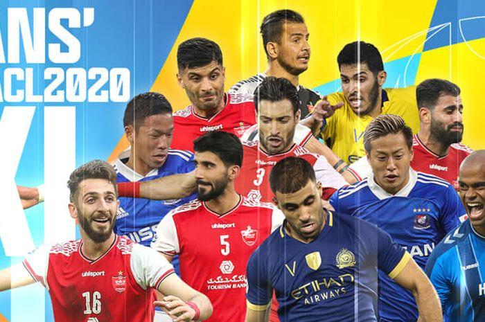 AFC baru saja mengumumkan sebelas pemain terbaik Liga Champions Asia 2020.