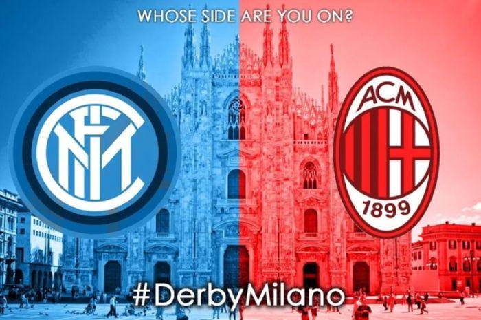 Inter Milan vs AC Milan di Coppa Italia.
