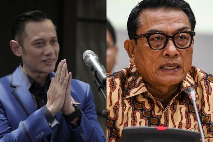 SBY Disebut Dekat dengan Moeldoko, Demokrat: Jangan Halu ...