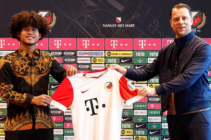 Bagus Kahfi resmi diperkenalkan oleh FC Utrecht, Jumat (5/2/2021).