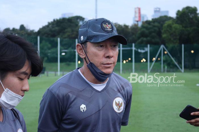 Pelatih timnas U-22 Indonesia, Shin Tae-yong berharap Liga 1 2021 cepat bergulir.