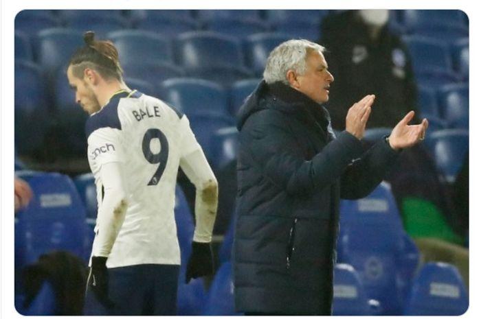 Gareth Bale tidak dibawa oleh Jose Mourinho kala Tottenham Hotspur bentrok dengan Everton di ronde kelima Piala FA 2020-2021.