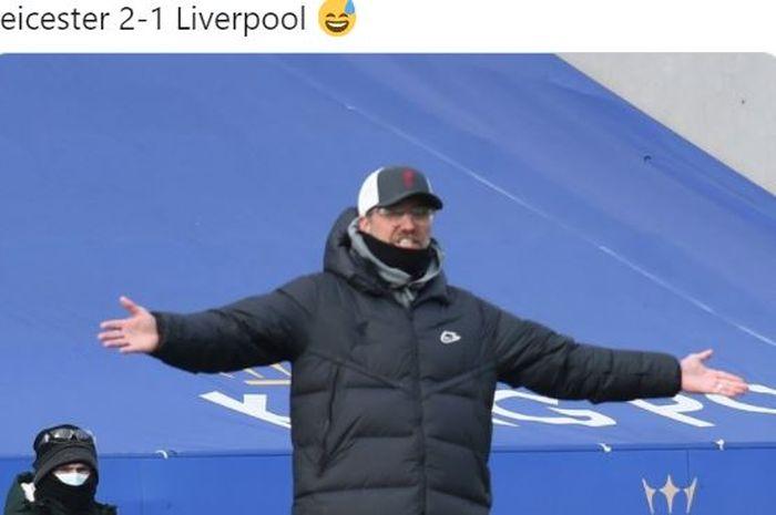 Pelatih Liverpool, Juergen Klopp, angkat bicara soal blunder Alisson Becker yang gebok Ozan Kabak sampai jatuh dan berujung kebobolan.