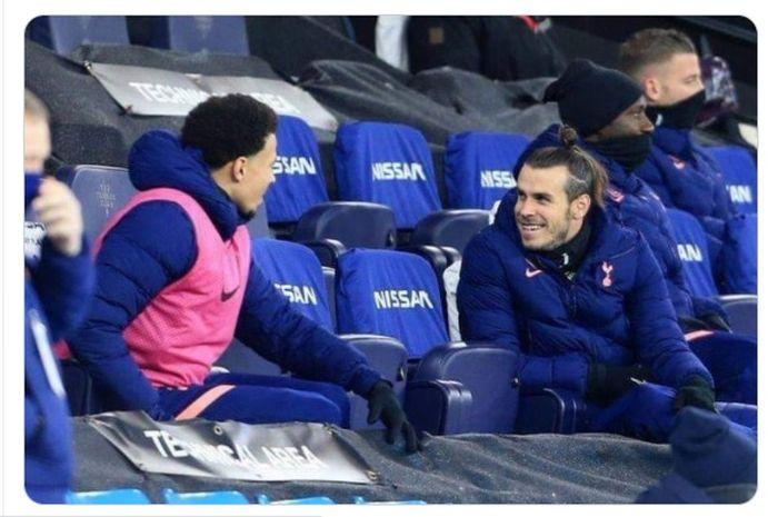Delle Alli dan Gareth Bale mulai terpinggirkan dari skuad utama Tottenham Hotpsur pada musim 2020-2021.