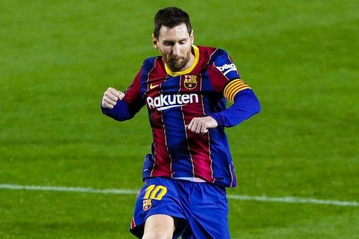 Lionel Messi catatkan rekor baru.
