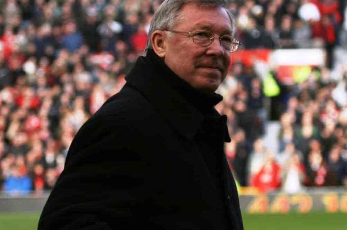Sir Alex Ferguson, mantan pelatih legendaris Manchester United.