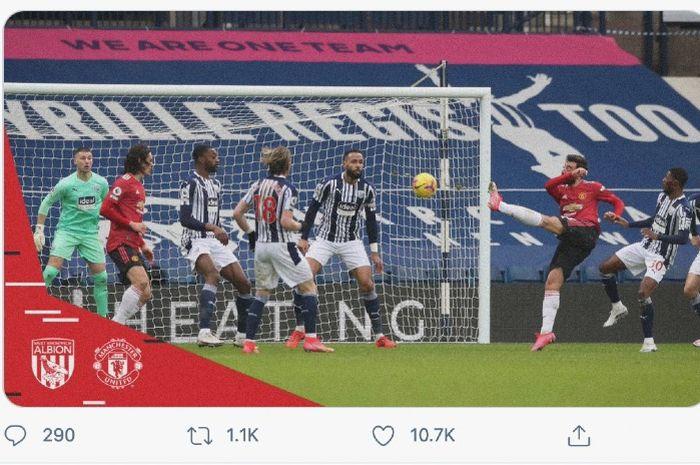 Manchester United akan berusaha memperpanjang catatan positif mereka di kandang lawan saat bersua Crystal Palace pada lanjutan Liga Inggris.