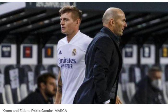 Gelandang Real Madrid, Toni Kroos, memprediksi drama soal masa depan pelatih klubnya, Zinedine Zidane, akan terulang dalam waktu dekat.