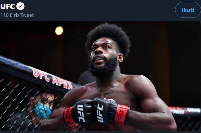 Petarung kelas bantam UFC, Aljamain Sterling.