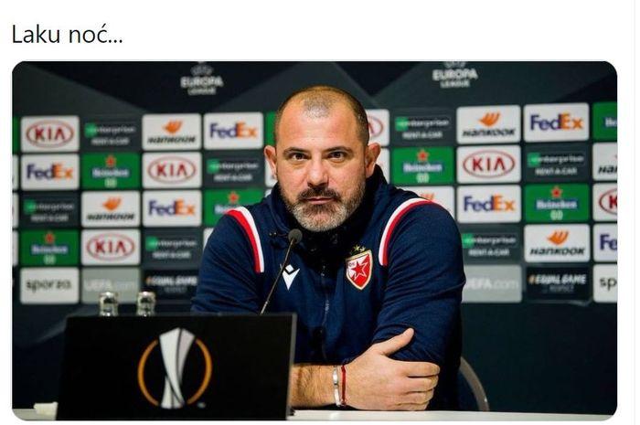 Ribut-ribut di Akhir Laga AC Milan Vs Crvena Zvezd