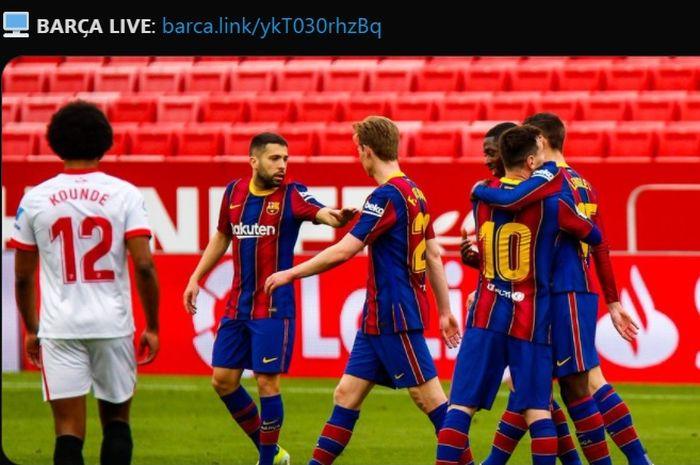 Satu Pemain Jadi Tumbal Kemenangan 2-0 Barcelona a