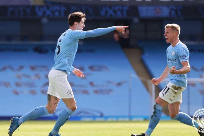 Manchester City panen rekor dalam pekan ke-26 Liga Inggris 2020-2021, sementara Aston Villa hanya satu poin dari Liverpool.