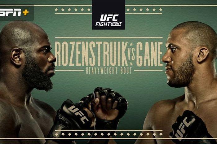 Jairzinho Rozenstruik vs Ciryl Gane di UFC Vegas 20.