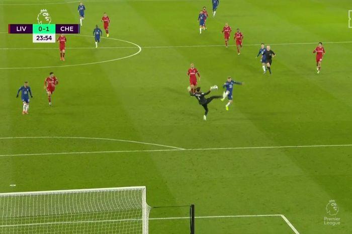 Blunder kiper Liverpool, Alisson.