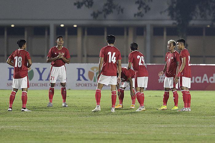Timnas U-22 Indonesia Vs Tira Persikabo