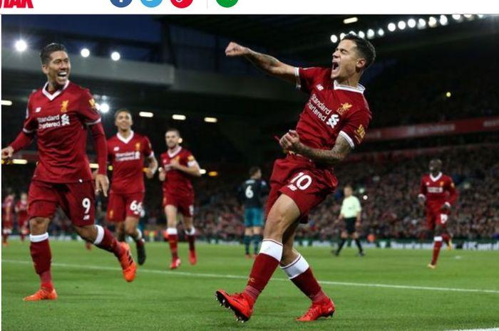 Jamie Carragher menilai Juergen Klopp membutuhkan sosok seperti Philippe Coutinho di Liverpool saat ini.