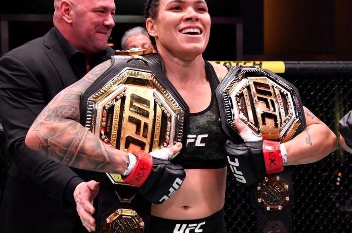 Petarung wanita UFC, Amanda Nunes.