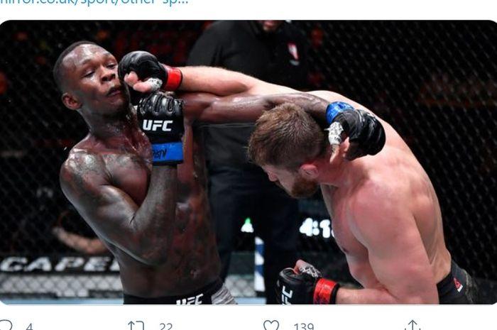 Kekuatan Polandia Tak Bikin Israel Adesanya Alergi Kelas Berat Ringan UFC thumbnail
