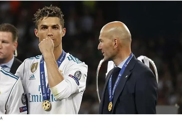 Soal peluang Cristiano Ronaldo ke Real Madrid, Begini Jawaban Zidane