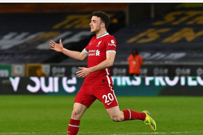 Striker Liverpool, Diogo Jota.