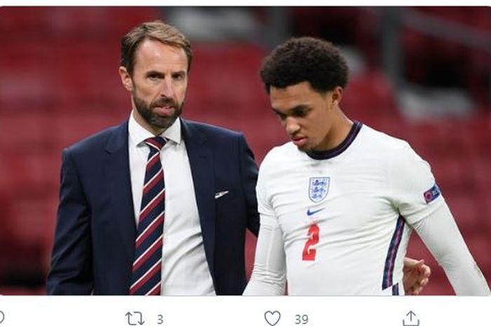 Legenda Liverpool, Jamie Carragher, tidak terkejut dengan keputusan pelatih Inggris yang tidak memanggil bek Liverpool Trent Alexander-Arnold.