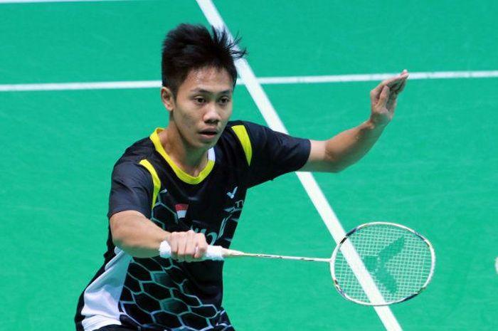 Ade Resky Dwicahyo saat masih memperkuat tim Indonesia.