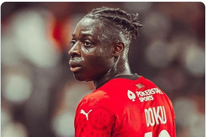 Liverpool gagal mendapatkan tanda tangan wonderkid Rennes, Jeremy Doku setelah Sadio Mane tidak membujuknya.