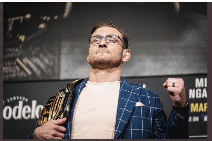 Juara kelas berat UFC, Stipe Miocic.
