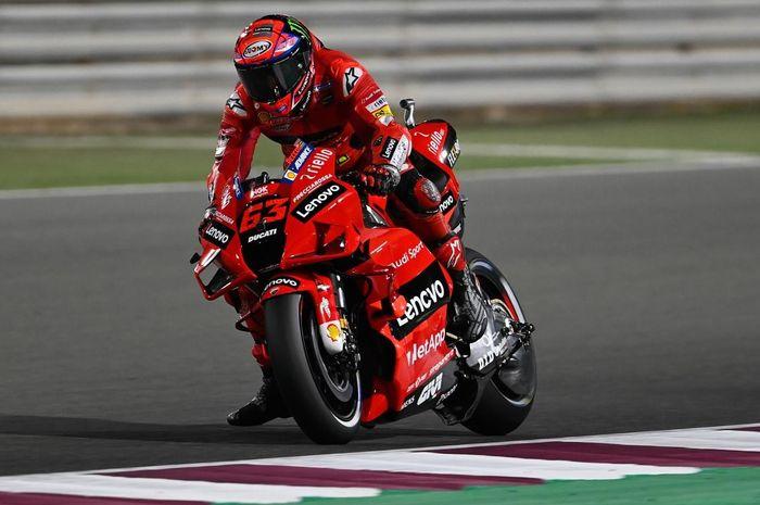 MotoGP Qatar 2021 - Dikepung Yamaha, Ini Strategi Bagnaia agar Bisa Podium
