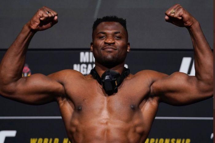 Raja baru kelas berat UFC, Francis Ngannou.