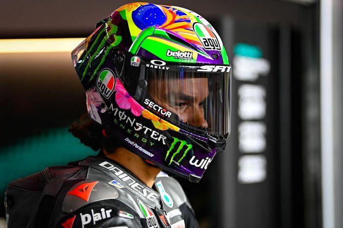 Cuma finis ke-18 pada balapan MotoGP Qatar 2021, Franco Morbidelli ngaku ada masalah motor