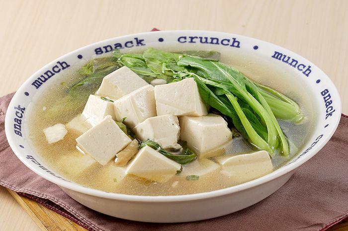 Resep Sup Pokcoy Tahu Sutra