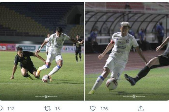 Arema FC dipaksa angkat koper lebih awal di turnamen pramusim bertajuk Piala Menpora 2021 setelah tersingkir di fase grup.