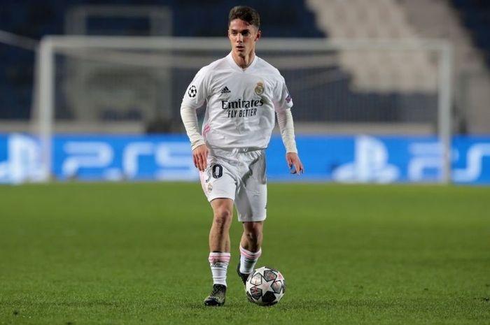 Bek muda akademi Real Madrid, Miguel Gutierrez.