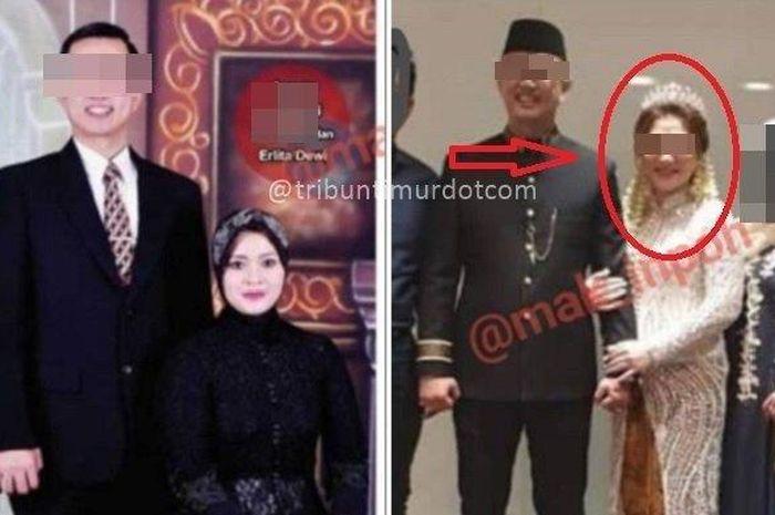 Potret Erlita Dewi dan mantan suami beserta LW