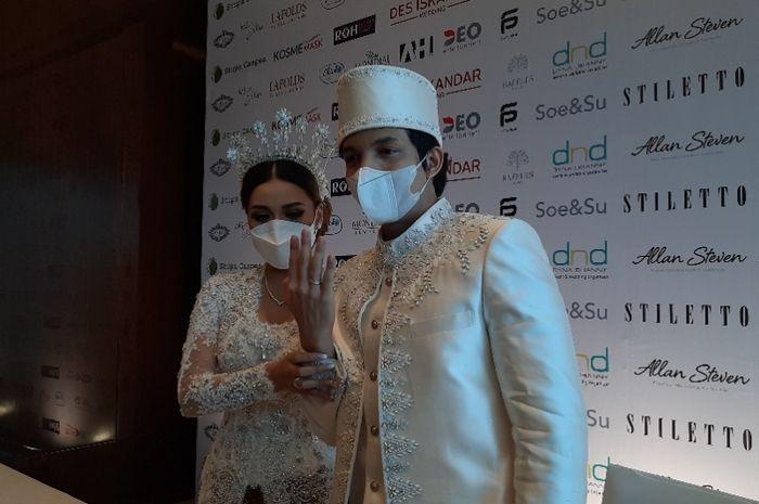 Aurel Hermansyah dan Atta Halilintar saat ditemui Grid.ID di kawasan Setiabudi, Jakarta Selatan, Sabtu (3/4/2021).