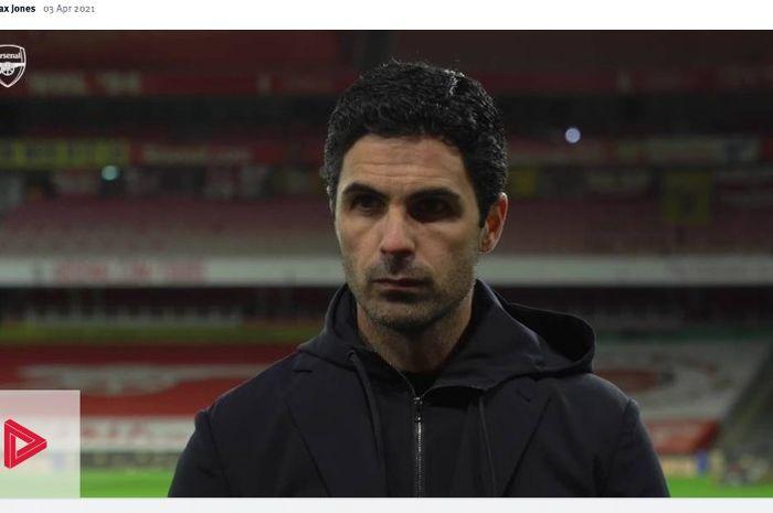 Pelatih Arsenal, Mikel Arteta, memberikan komentarnya terkait kans Arsenal berkompetisi di Liga Europa tipis pada musim depan.