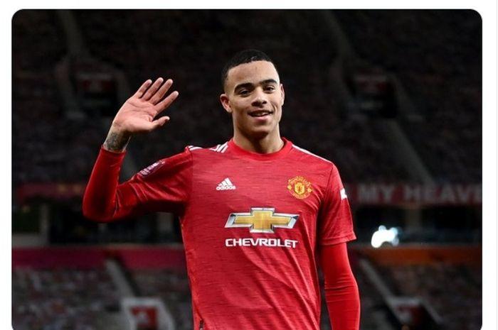 Wonderkid Manchester United, Mason Greenwood, kini sejajar dengan Cristiano Ronaldo usai membawa timnya menggebuk Tottenham Hotspur.