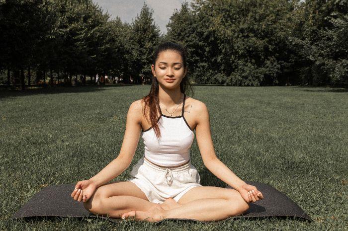 Illustrasi Meditasi