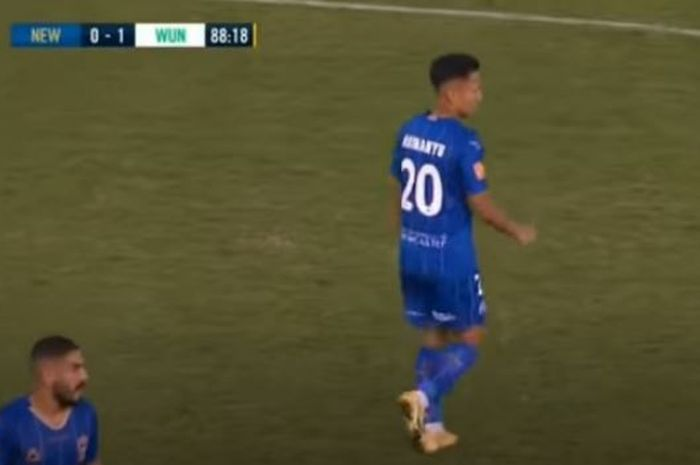 Syahrian Abimanyu Debuts For Newcastle Jets Refuses Emotions From Italy Midfielder And Creates 1 Chance Netral News