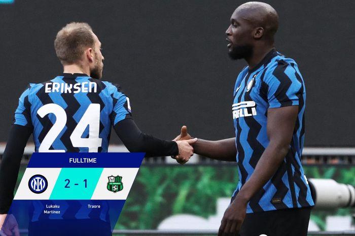 Akibat dan Klasemen Perserikatan Italia -25, Inter Milan 11+ di Puncak thumbnail