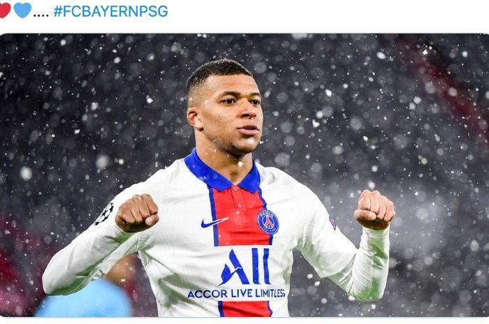 Pelatih Paris Saint-Germain, Mauricio Pochettino, mengatakan bahwa Kylian Mbappe tenang dan fokus ditengah ketidakjelasan masa depannya.